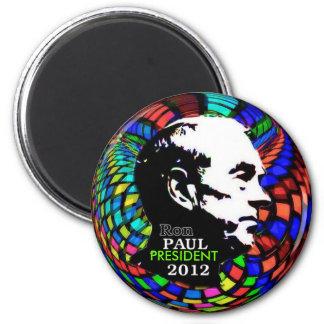 Imán psicodélico 2012 de Ron Paul