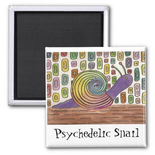 Imán psicodélico del arte del caracol