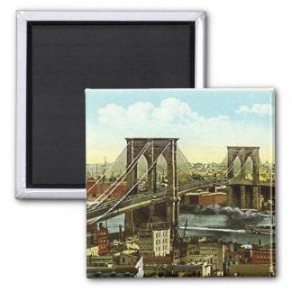 Imán - puente de Brooklyn