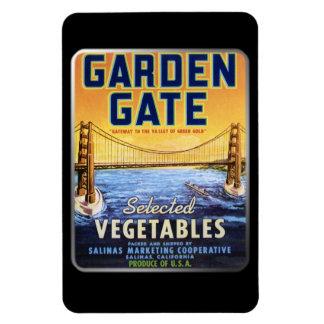Imán - puerta de jardín, por GalleryGifts