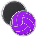 Imán púrpura de encargo del voleibol