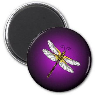 Imán púrpura de las libélulas de la libélula