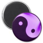 Imán púrpura de Yin yang