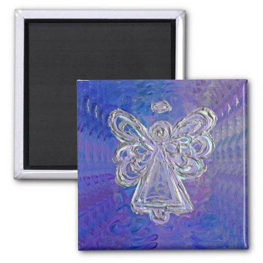 Imán púrpura del ángel