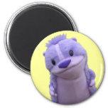 Imán púrpura del Chipmunk