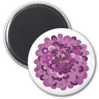 Imán púrpura floreciente de la flor