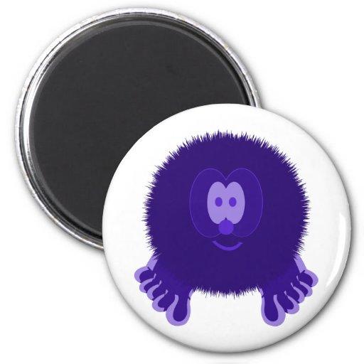 Imán púrpura oscuro de Pom Pom PAL
