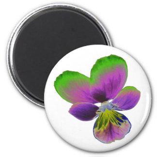 Imán púrpura y verde del pensamiento