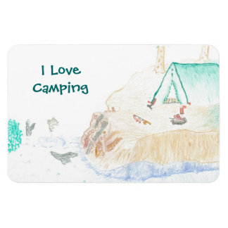 Imán que acampa del amor grande de I