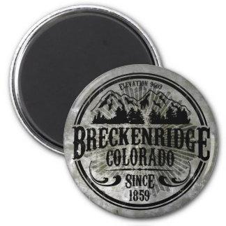 Imán radial viejo de Breckenridge