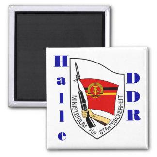 Imán RDA de Halle, Alemania Stasi