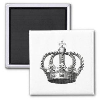 Imán real del cuadrado de la corona