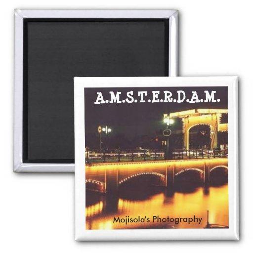 Imán redondo - AMSTERDAM