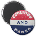 Imán redondo de Coolidge-Dawes