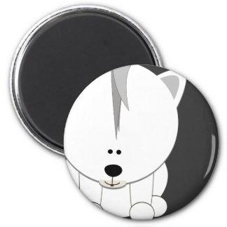 Imán redondo de Cub del oso polar