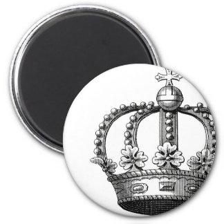 Imán redondo de la corona real