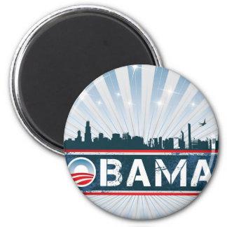 Imán redondo de Obama