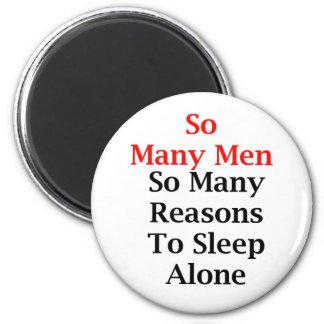 Imán redondo de tan muchos hombres