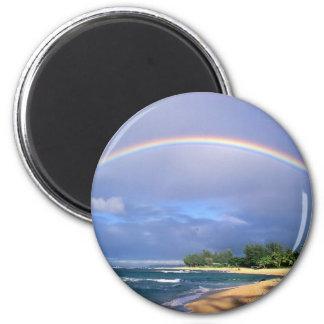 imán redondo del arco iris
