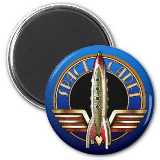Imán redondo del cadete del espacio