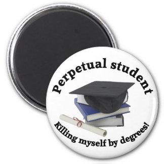 imán redondo del estudiante 2 perpetuos