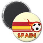 Imán redondo del fútbol de España