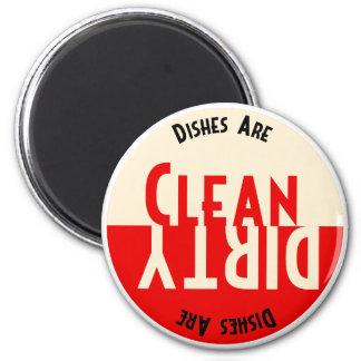 Imán redondo del lavaplatos del diseño del vintage