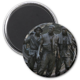 Imán redondo del monumento de guerra de Vietnam