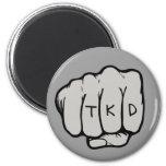 Imán redondo del puño de TKD