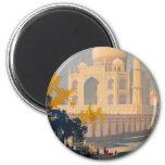 Imán redondo del Taj Mahal