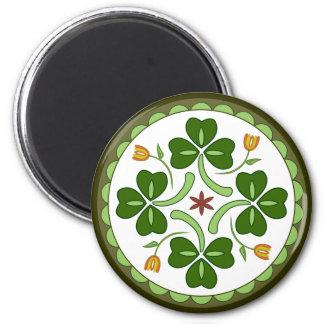 Imán redondo - maleficio irlandés de la buena suer