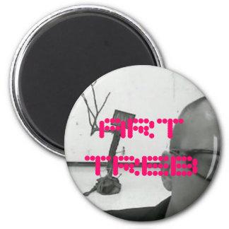 Imán redondo - modificado para requisitos particul