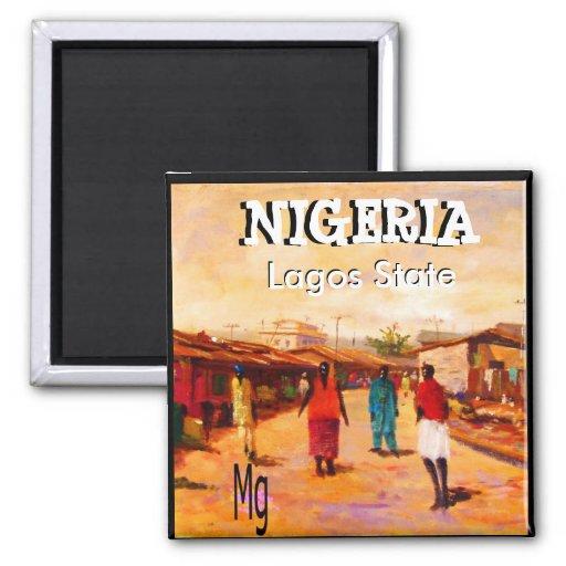 Imán redondo - Nigeria
