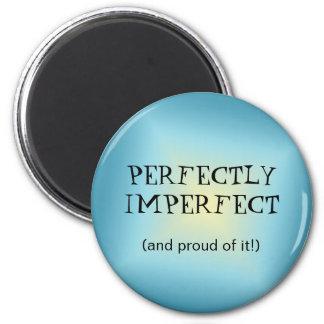 Imán redondo perfectamente imperfecto
