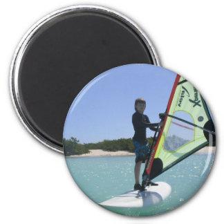 Imán redondo Windsurfing de las lecciones
