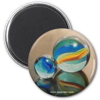 Imán reflejado de los mármoles