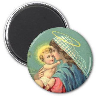 Imán religioso de Jesús del Virgen María y del beb