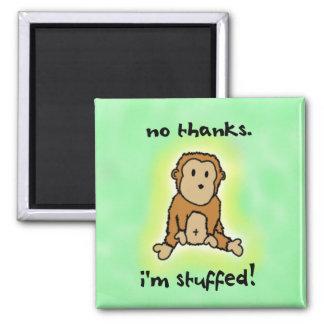 Imán relleno del mono