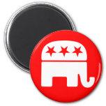 Imán republicano del elefante