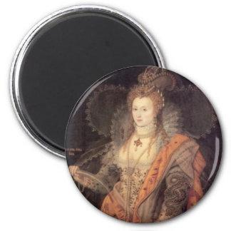 imán Retrato de la reina Elizabeth I