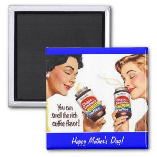 Imán retro 1950 de la comida del día de madre 5
