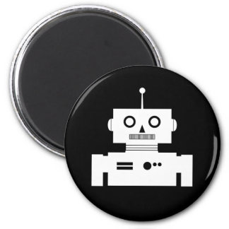 Imán retro de la forma del robot