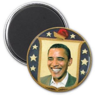 Imán retro del escudo de Obama