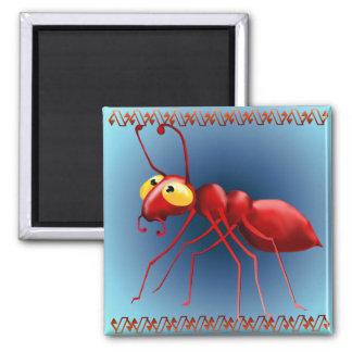 Imán rojo de la hormiga