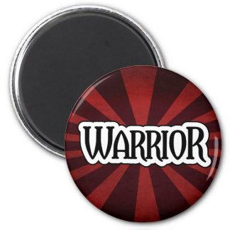 Imán rojo del guerrero de Starburst
