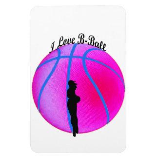 Imán rosado de Flexi de la diva del B-Ball de Simp