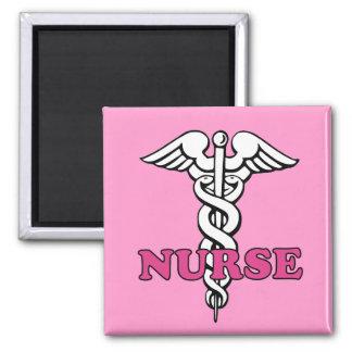 Imán rosado de la enfermera
