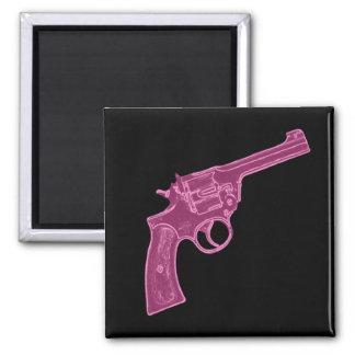 Imán rosado de la pistola