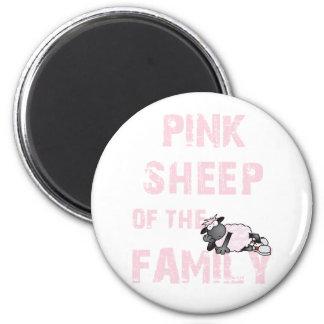 Imán rosado de las ovejas