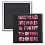 Imán rosado del cáncer de pecho de Camo